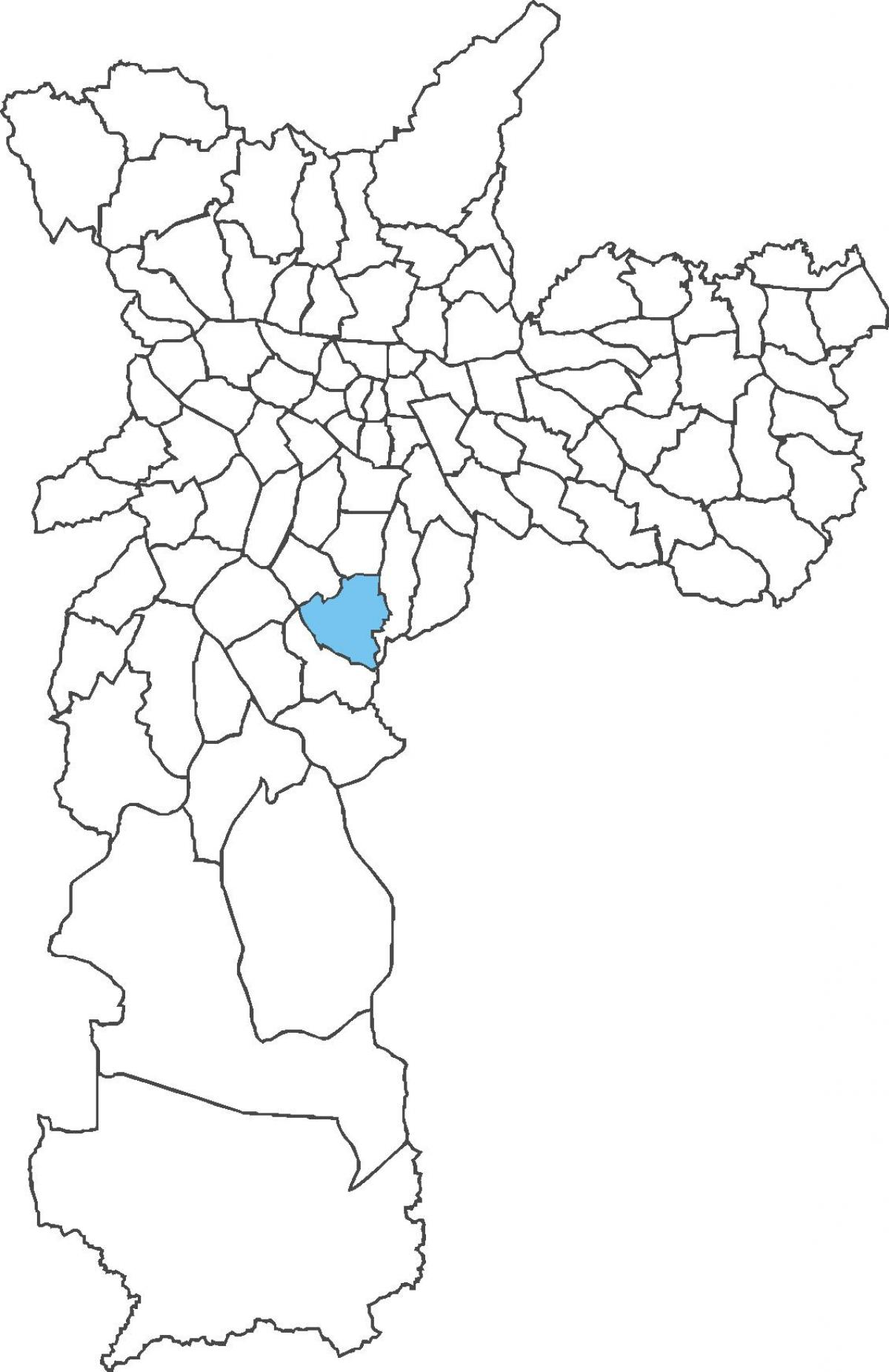 Kartta Jabaquara district