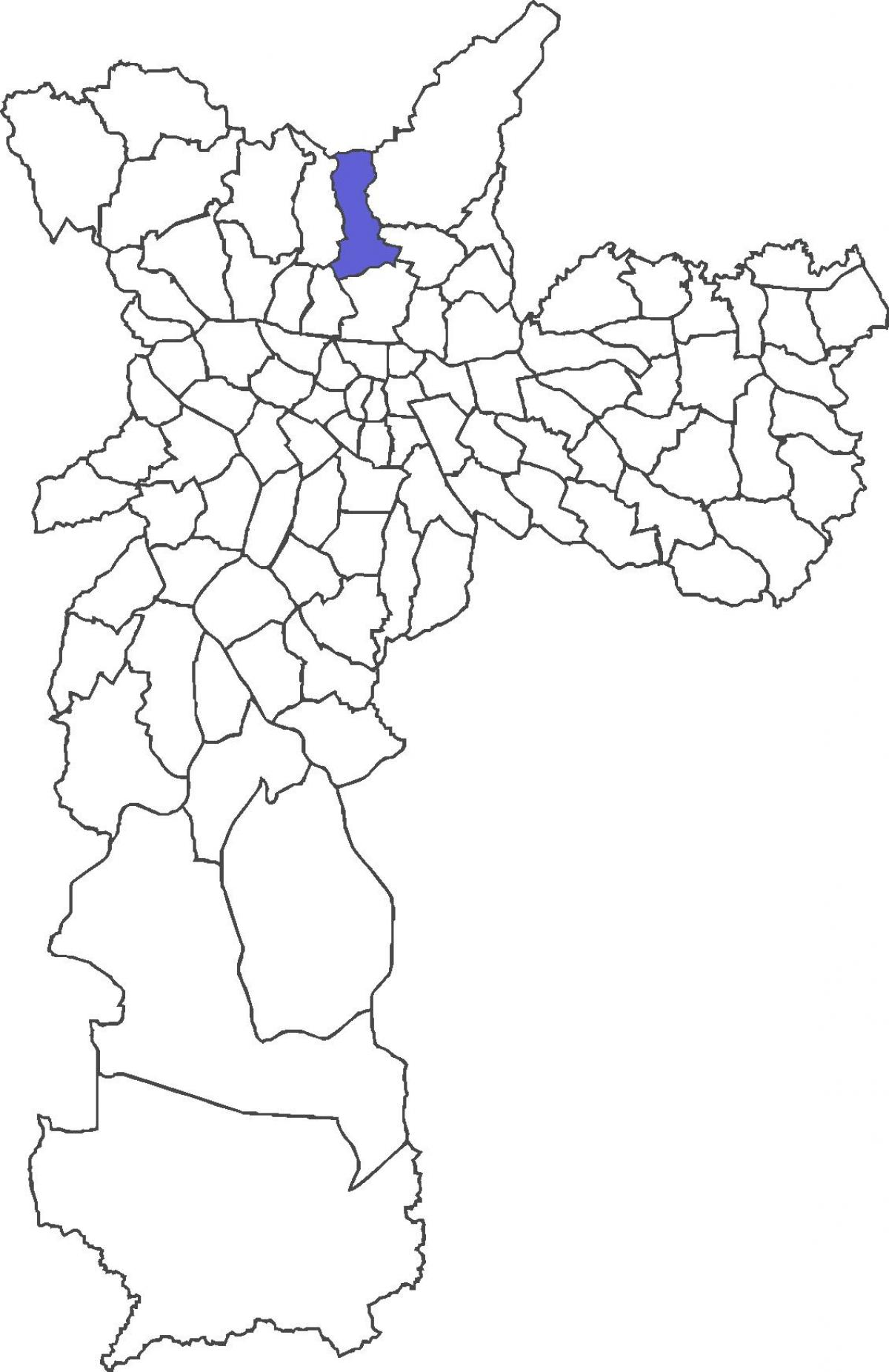 Kartta Mandaqui district